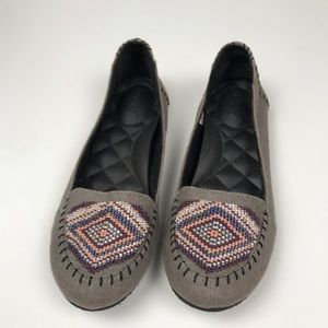 Reef | Moccasins Beaded Flats